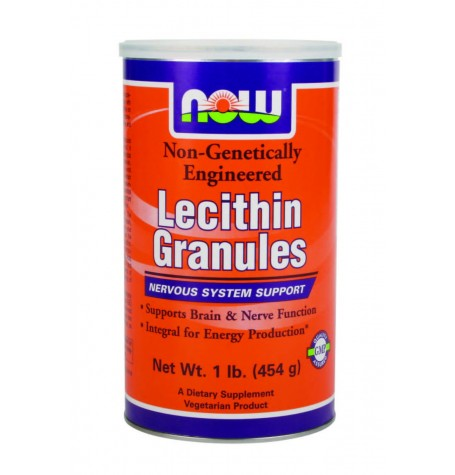 NOW Lecithin Granules 227 мг