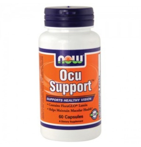 NOW Ocu Support 60 капсули