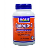 NOW Omega 3 (Рибено Масло) 100 дражета