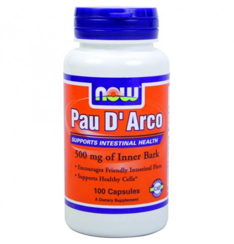 NOW Pau D'Arco 500 mg 100 капсули