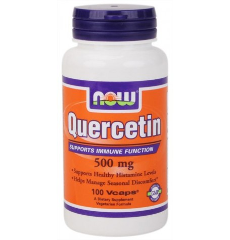 NOW Quercetin 500 mg 100 капсули
