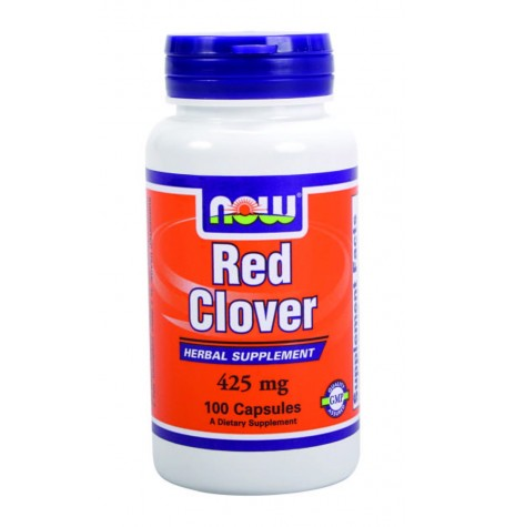 NOW Red Clover 425 mg 100 капсули
