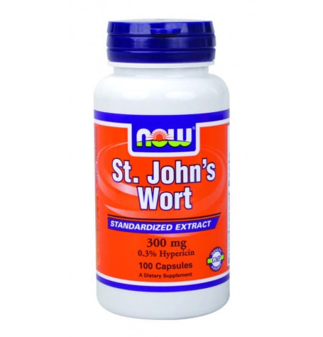 NOW St. John's Wort 300 mg 100 капсули