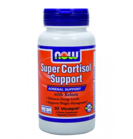 NOW Super Cortsisol Support 90 капсули