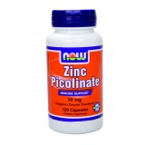 NOW Zinc Picolinate 50 mg 120 капсули