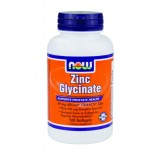 NOW Zinc Glycinate 30 mg 120 дражета