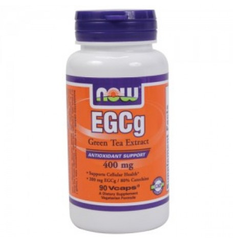 NOW  EGCG Green Tea Extract 400 mg 90 капсули