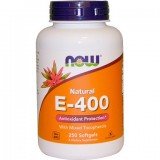 NOW Vitamin E-400 IU MT 240 дражета