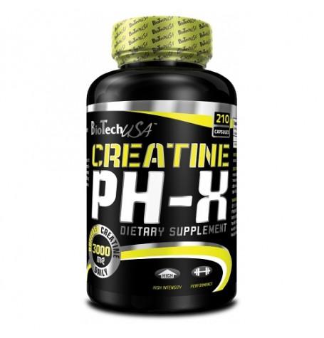 Biotech Creatine PH-X 210 капсули