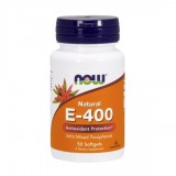 NOW Vitamin E-400 IU MT 50 дражета