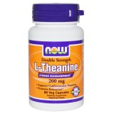 NOW L-Theanine 200 mg 60 капсули