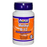 NOW Methyl B-12 5000 mcg 60 дражета