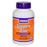 NOW Slippery Elm 400 mg 100 капсули
