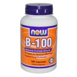 NOW Vitamin B-100 Complex 100 капсули