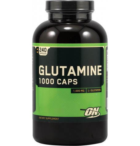 Optimum Nutrition Glutamine 1000 240 капсули