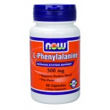 NOW Phenylalanine 500 mg 60 капсули