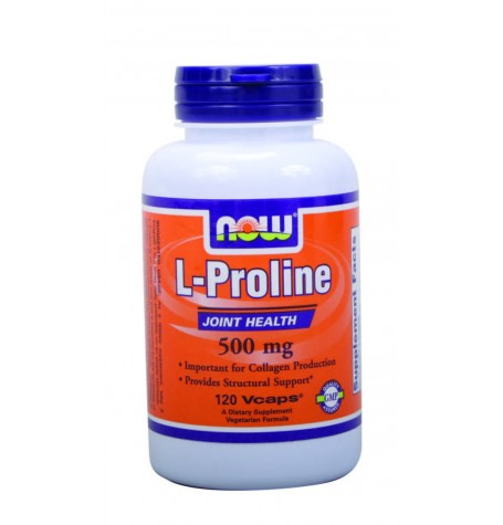 NOW Proline  500 mg 120 капсули