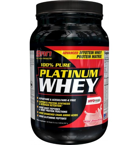 SAN 100% Pure Platinum Whey 910 гр