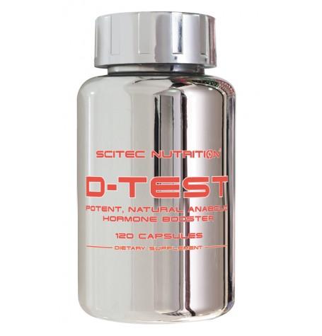 Scitec D-Test 120 капсули