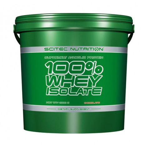 Scitec 100% Whey Isolate 4000 гр