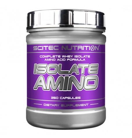 Scitec Isolate Amino 250 капсули