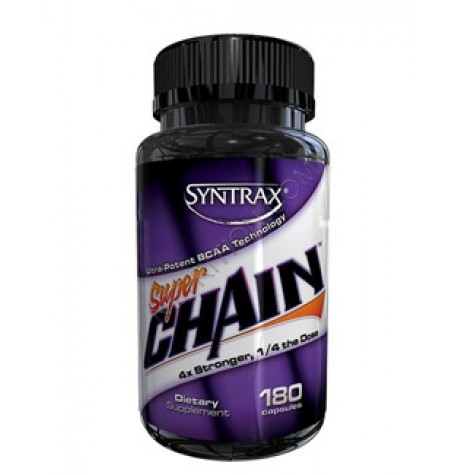 Syntrax SuperChain BCAA 180 капсули