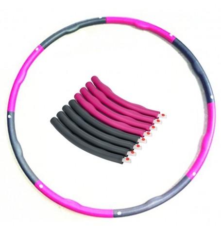 Масажен обръч за въртене Weight HulaHoop 100 см Armageddon Sports